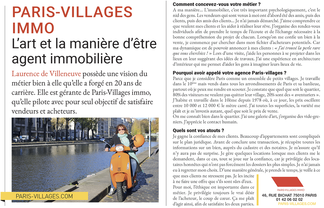 Article paru en mars 2019 dans le magazine Challenges